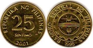 25 сентимо филип