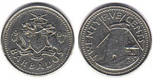 25cents барбадос