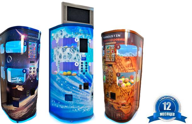 Торговые автоматы по продаже игрушек Мангустин