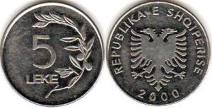 5 лек албания