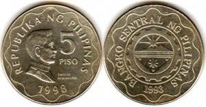 5 песо филип