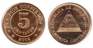 5 сентаво никарагуа