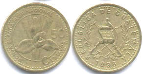 50 сентаво гватемала