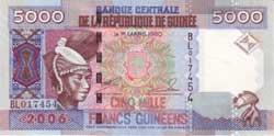 5000а гвинейских франков