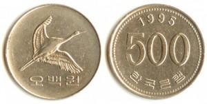 500vons ю корея