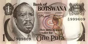 Botswana-1а пул