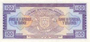 Burundi-100р франк