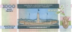 Burundi-1000р франк