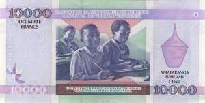 Burundi-10000р франк