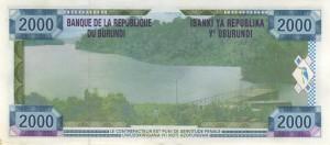 Burundi-2000р франк