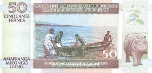 Burundi-50р франк
