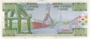 Burundi-5000р франк