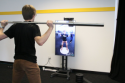 Особое зеркало – фитнес инструктор