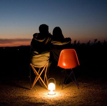 Follow me лампа на природе