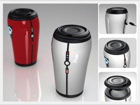 Чашка для кофе, которая платит за напиток
