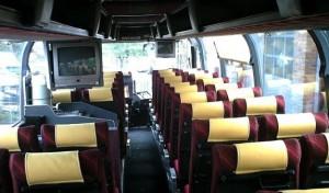 Места в туристическом автобусе