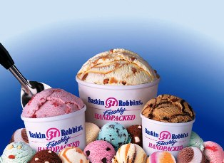 Франшиза баскин роббинс сеть кафе мороженого