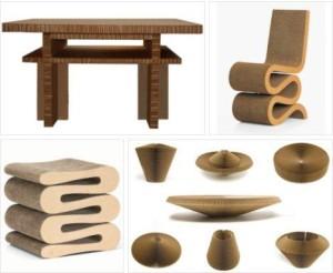 Мебель из картона может быть стильной!