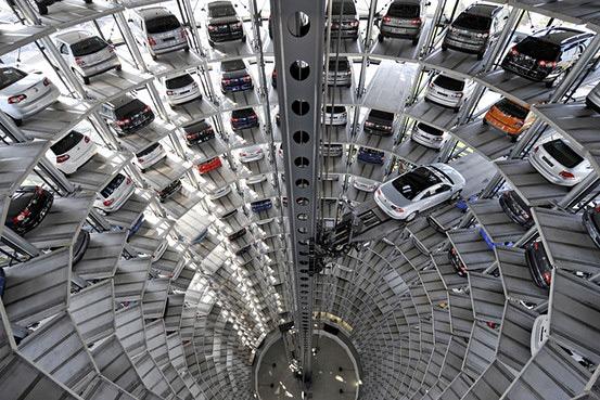 Идея расширения и обустройства парковки