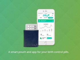 Мини-аптечка Pillsy напомнит о времени приема контрацептива