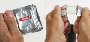 Быстронадевающиеся презервативы для тех, кто торопится!