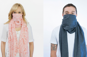 Противовирусный шарф