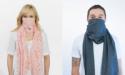 Противовирусный шарф-маска