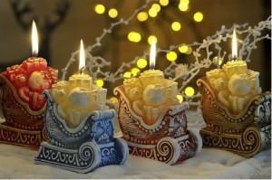 Свечки в Новогоднем стиле
