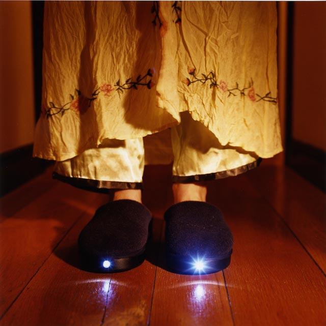 Тапочки с подсветкой для любимой бабушки